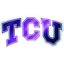 Tcu Horned Frogs Decal Party City