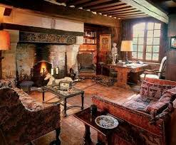 cozy old english and old world styled