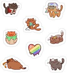 Amazon Com Jess Sha Store 3 Pcs Stickers Form Nyaatron Voltron Sticker For Laptop Phone Cars Vinyl Funny Stickers Decal For Laptops Guitar Fridge Kitchen Dining