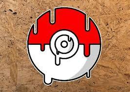 Pokeball Custom Name Wall Decal Sticker Pokemon Art Kids Decor Vinyl Sy07