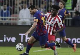 Barcellona vs Atletico Madrid - SupercoppaBarcellona vs ...