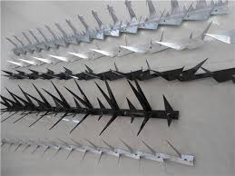 China All Size Spike Nail Razor Spike Fence Anti Climb Wall Spikes China Wall Spike Anti Climbing Prickly