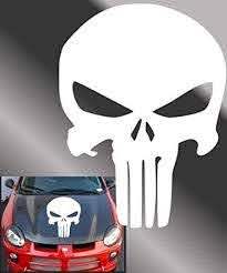 Amazon Com Universal Punisher Truck Or Car Hood Graphic One 32 X 24 Decal Pick Color Automotive