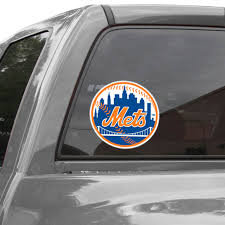 Wincraft New York Mets 8 X 8 Color Team Logo Car Decal