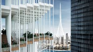 Third place concept for Emaar's Landmark competition is inspired ...