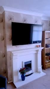 fireplace tv mount brackets above the