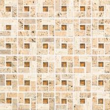 travertine square 12 x 12 mosaic
