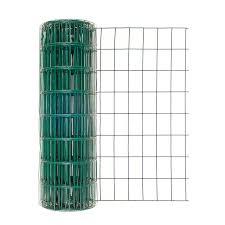 24in H X 50ft L Green Vinyl Garden Fence With 2in X 3in Mesh Walmart Com Walmart Com