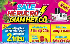 """Sale hè rực rỡ - giảm hết cỡ"""", chỉ có duy nhất tại MediaMart từ ngày 19.06  đến 03.07"""