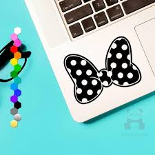 50 Off Minnie Mouse Bow Car Decal Minnie Mouse Truck Or Etsy