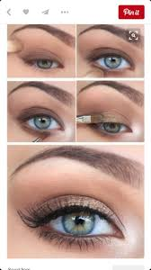 wedding makeup for blue green eyes