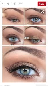 easy makeup looks for brown eyes cat