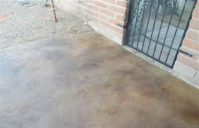 stained concrete patio overlay