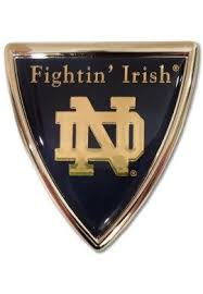 University Of Notre Dame Fighting Irish Car Decal University Of Notre Dame Notre Dame University Fighting Irish Logo Notre Dame Fighting Irish