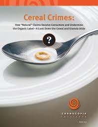 cornucopia cereal report