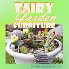 fairy garden furniture tiny