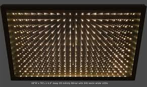 infinity mirror displays and infinity