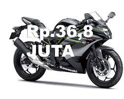 daftar harga kawasaki ninja 250 sl