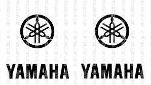 Set 2 Yamaha Logo Vinyl Sticker Hmcustom Online Shop