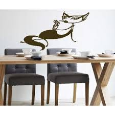 Shop The Cat Is Drinking A Cocktail Wall Art Sticker Decal Brown Overstock 11913246