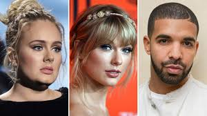 Adele, Taylor Swift, Drake Dominate RIAA's Decade-End Albums Chart ...