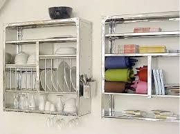 wall mounted dish rack kitchen wall