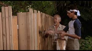 The Karate Kid Part I Paint The Fence Third Session Youtube