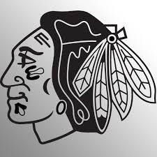 Chicago Blackhawks Nhl Hockey Sport Team Logo Wall Art Vinyl Etsy