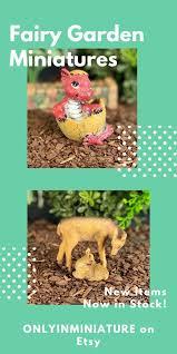 new miniature fairy garden animals and