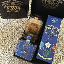 twg french earl grey gourmet tea gift