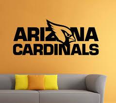 Amazon Com Arizona Cardinals Nfl Vinyl Decal Wall Sticker Emblem Football Team Logo Sport Poster Home Interior Removable Decor Kitchen Dining