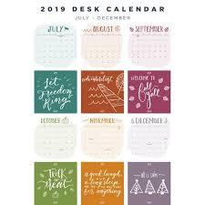 desk calendar botanical art month calendar desktop