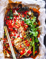 Spicy Paper Bag Whole Snapper @ Not ...