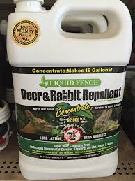 Russell S Photo Gallery Garden Lawncare Animal Repellents Liquid Fence Deer And Rabbit Repellent 1 Gallon Concentrate
