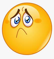 sad face emoji transpa png