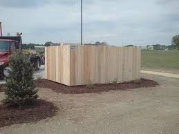 Custom Wood American Fence Company Of Iowa City Ia