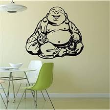 Alasijia Buddhist Culture Maitreya Buddha Wall Decal Home Decor Living Room Bedroom Diy Art Mural Wallpaper Removable Wall Stickers Buy Products Online With Ubuy India In Affordable Prices B07rgprc7p