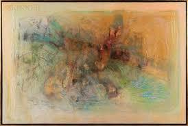 Tide Pool World 1 by Ronald Wesley Hayes on artnet