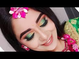 haldi ceremony makeup tutorial