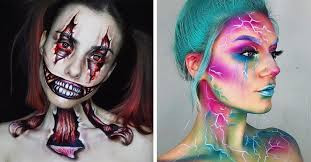 30 artistic halloween makeup ideas to