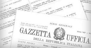 Gazzetta Ufficiale DL Direttiva Pacchetti