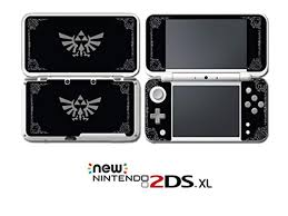 Legend Of Zelda Special Edition Black Grey Video Game Vinyl Decal Skin Sticker Cover For Nintendo New 2ds Xl System Console Newegg Com