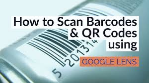 How to scan Barcodes and QR Codes using the Google Lens ...