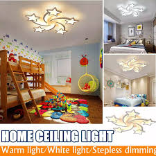 Acrylic Led Ceiling Light 3 5 Heads Stars Ceiling Lamp Hallway Kids Bedroom Home Decoration Dimmable Lighting Fixture 85v 265v Ceiling Lights Aliexpress