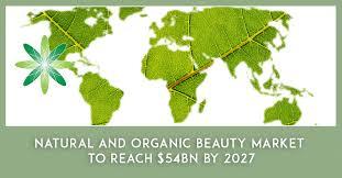 organic beauty market to reach 54bn