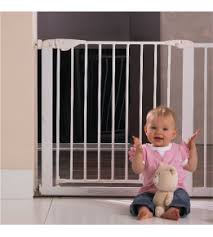 Child Safety Barriers And Gates Baby On The Move