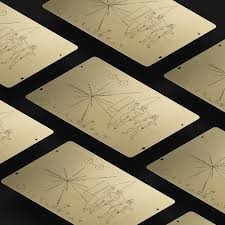 The Pioneer Plaque replica, by Duane King
