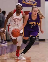 Loranger at Doyle girls basketball Presleigh Scott Ivy Carr | |  livingstonparishnews.com