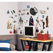 Roommates Star Wars Classic Spaceships Peel And Stick Wall Decals Amazon Com
