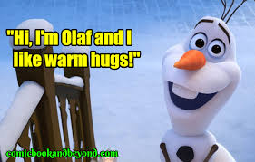 olaf quotes from the frozen movie comic books beyond